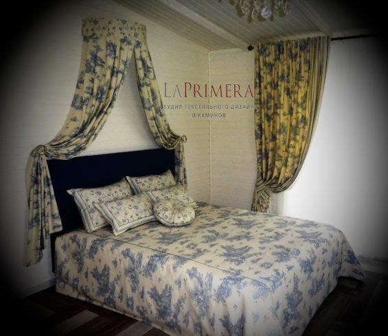 Эксклюзивные шторы в спальню для Талызиной Валентины Илларионовны