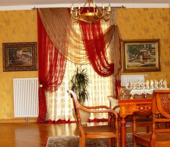 Шикарные ткани компании Veli гармонично вписались в интерьер с итальянкой мебелью