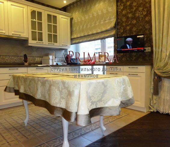 Шторы и столовое белье на кухню