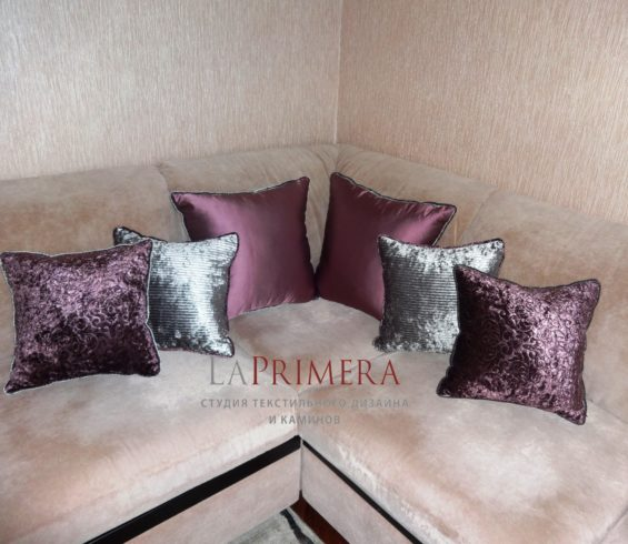 Чехлы на мягкую мебель и декоративные подушки