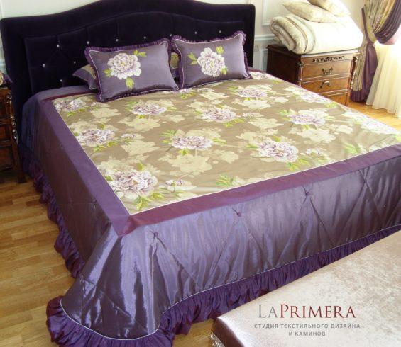 покрывала и подушки от студии  LaPrimera