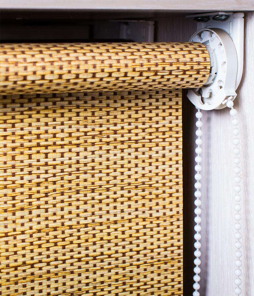 Рулонные шторы для ЭКО стиля