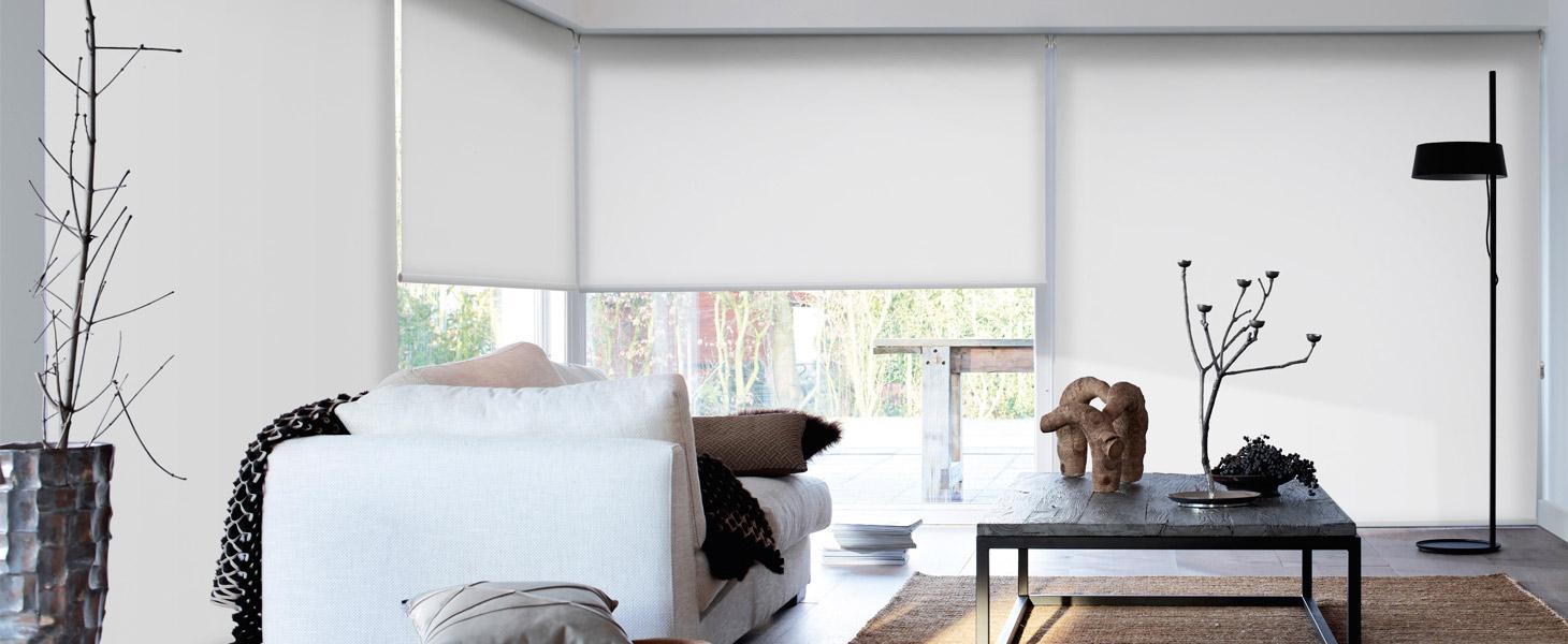 Рулонные шторы для эркерных окон