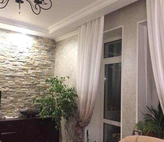 Уютная гостиная с тюлем от Veli арт.Реджио