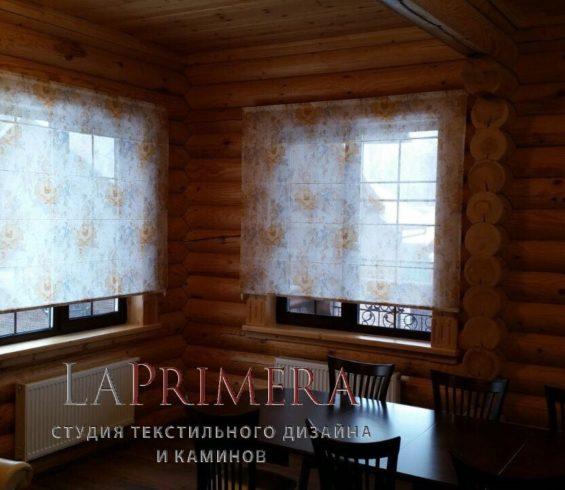 Римские шторы из лимитированной коллекции VELI art.PRIMAVERA004
